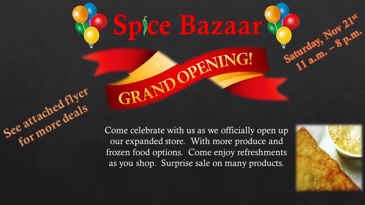 Spice-Bazaar-grand-opening